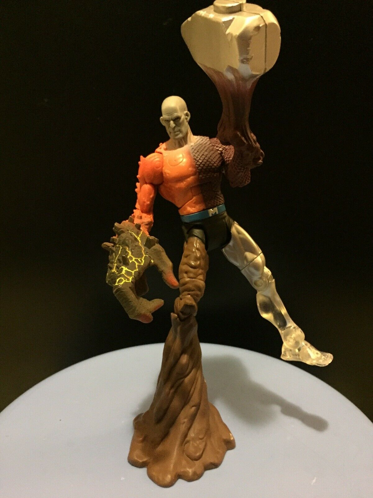DC Universe Classics Wave 1 EleSiet Man Metamorpho BAF DCUC 100% Complete (A)