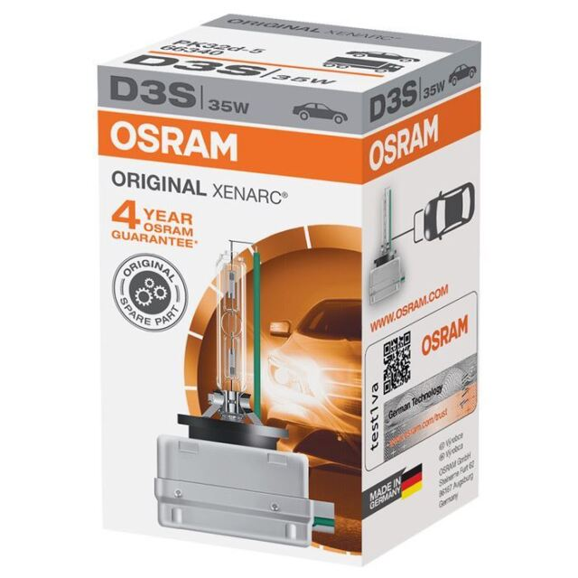Osram D3S Original 42v Replacement Upgrade Xenon Car BULB Single 66340