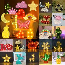 Push-Lampe Nachtlicht mit 3 LED Lampen H 27 cm Schlummerlicht Kinderlicht