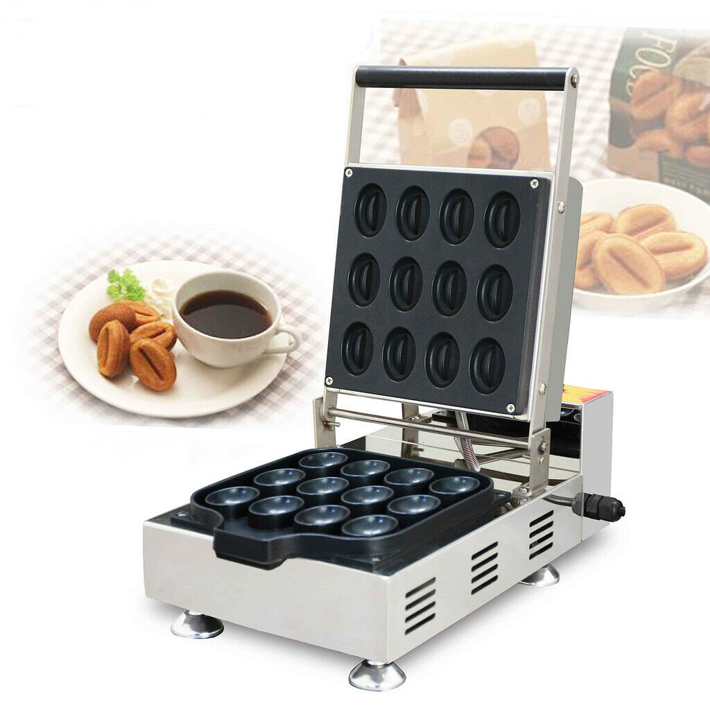 V Electric Coffee Beans Waffle Maker cuisson four en acier inoxydable Commercial 110 V