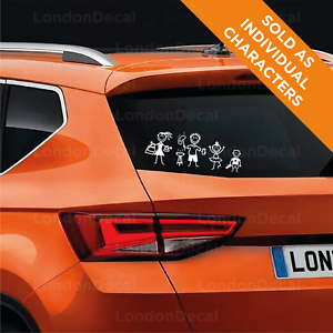 MY-CAR-STICK-FAMILY-Window-Bumper-Vinyl-Sticker-any-colour-From-LondonDecal