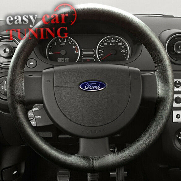 Soft Grip Maple Wood Steering Wheel Cover Easy Fit Leather Glove 37-39cm