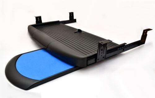 Kit de clavier tiroir Rails coulissant tiroirs tiroir montage noir ou gris