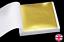 100-Sheets-Gold-Leaf-Foil-9cm-Square-Craft-Gilding-UK-Stock thumbnail 1