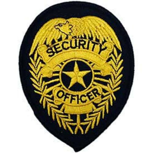 3.75/'/' YLW//Blk EagleEmblems PM4090 Patch-Security Off-Shld