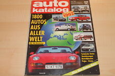 SV0051) Auto Motor und Sport - AMS - Auto Katalog Nr. 35 - 1992