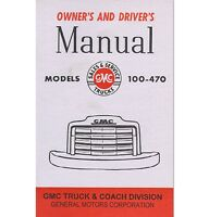 1947-48 Gmc Truck Owner's Manual