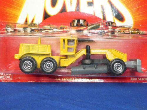 MAJORETTE Movers #331 Leveling Grattoir Construction Truck series 300
