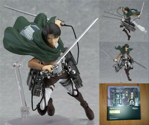 Attack-On-Titan-Heichov-Levi-Ackerman-Action-Figure-PVC-Model-Figma-213-Doll-Toy