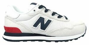 New-Balance-Kid-039-s-515-Spring-Canvas-Pack-Big-Kids-Male-Shoes-Grey-with-Blue-Size