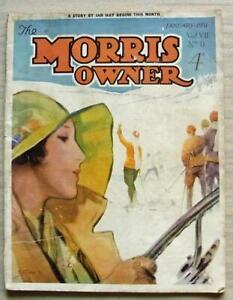 The-MORRIS-OWNER-Car-Magazine-Jan-1931-Morris-Oxford-Six