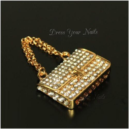 handbags key ring Bling Gems Decoration Handbag Charms for mobile phone covers