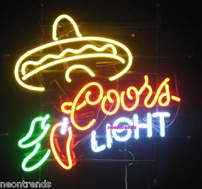 SOMBRERO chili Mexico Hut Neonreklame @ Neon signs Leuchtreklame Neonschild news