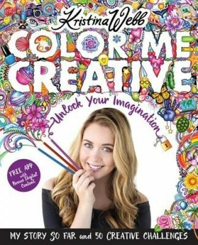 Color Me Creative by Kristina Webb Paperback Book English