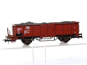 Klein-Modellbahn-3092-H0-Gueterwagen-Hochbordwagen-Es-DB-mit-Kohleeinsatz-OVP