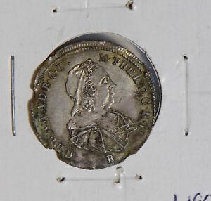 Hungary-1770-3-Krajczar-silver-rare-H0096-combine-shipping