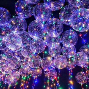 6x-20-034-DEL-Balloon-fluorescents-Ballon-Helium-Pour-Anniversaire-Mariage-Noel