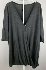 Rags and Couture Hacci Draped Cardigans Womens Size Large