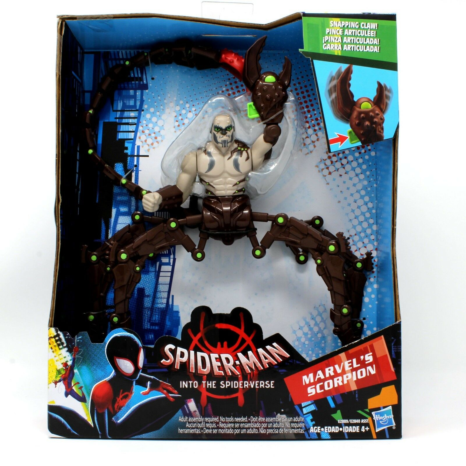 MARVEL'S SCORPION Action Figure 2018 Spider-Man Into the Spider-Verse 7.5  Inch