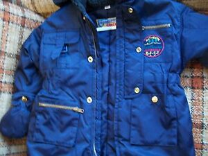65c3854f3 Giacca Size 24M Child s Snowsuit - Navy