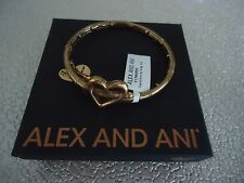 Alex and Ani CUPID'S ARROW  WRAP Rafaelian Gold Bangle New W/ Tag Card & Box