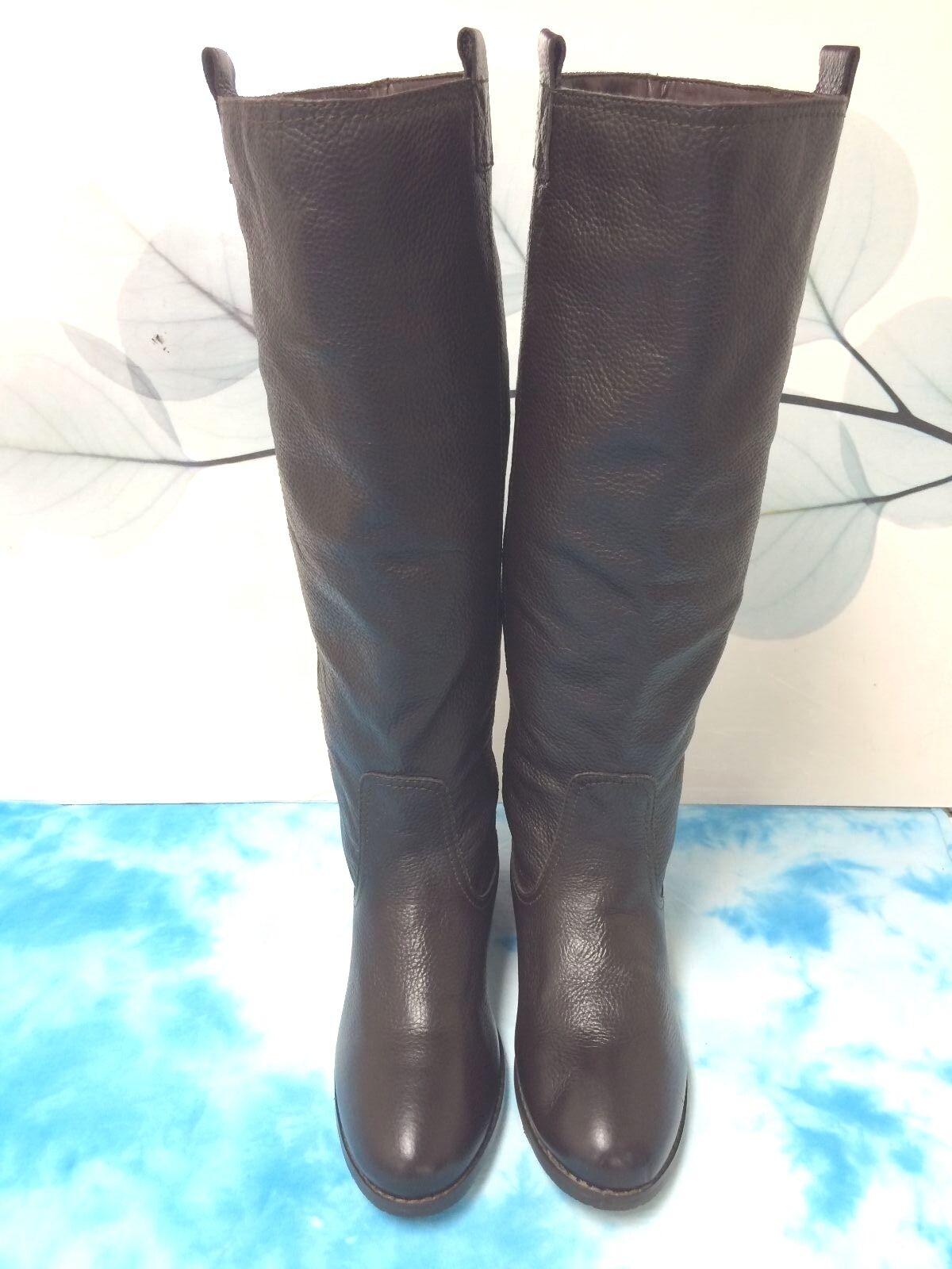 Lumiani Lumiani Lumiani Storlek 6 M bspringaaa Pebble läder stövlar kvinnor skor  fashional butik till salu