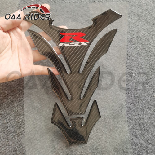Carbon Fiber Tank Pad Cover Sticker For Suzuki GSXR1000 K7 K8 GSXR600 750 06-17