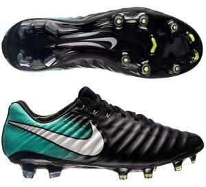 new york ffb94 38292 Details about Nike Women's Tiempo Legend VII FG Soccer Cleats sz 7.5 Black  Aqua 897804-002