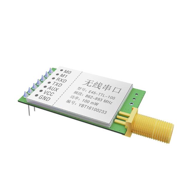 Free shipping  1pcs  E45-TTL-100 20dBm 3km SX1276 868MHz LoRa Transceiver Module