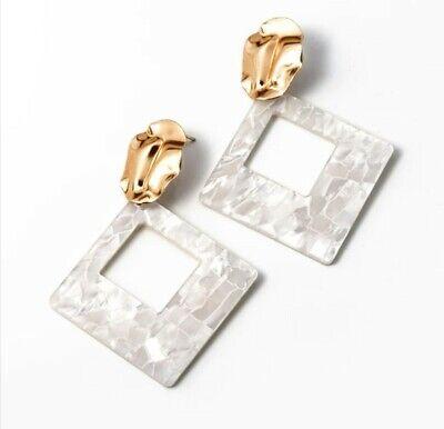 Fashion Women Simple Silky Tassel Fringe Earrings Dangle Dainty Drop Design UK