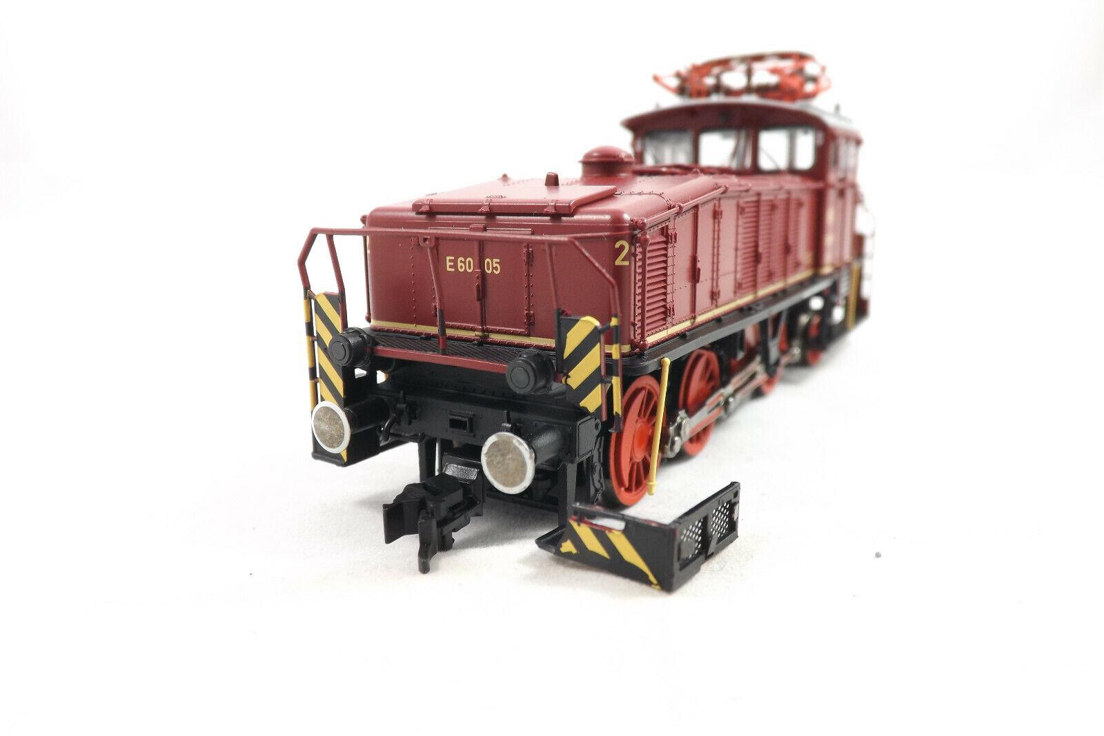 Fleischmann 436004 Elektrolok e60 della DB rosso, h0, nuovo in scatola originale