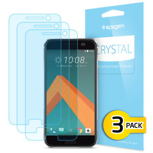 Spigen-HTC-10-Crystal-Clear-Shockproof-Screen-Protector-3PK