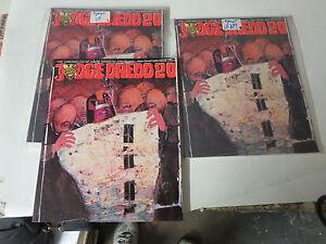 JUDGE-DREDD-Chronicles-Book-20-TPB-Graphic-Novel-TITAN-Books-2000-AD-1988