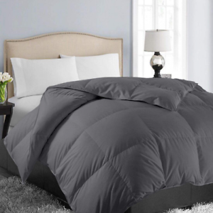 King Soft Quilted Down Alternative Summer Cooling Comforter Luxury Hotel Coll