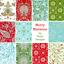 BUNDLE-Free-Spirit-Elegant-Christmas-Fabric-Merry-Mistletoe-by-Dena-Designs thumbnail 1