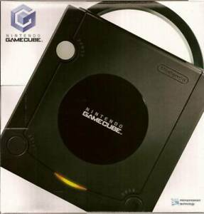 Nintendo-Gamecube-Jet-Black-Great-Condition-Fast-Shipping