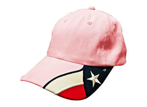 Pink-Texas-Flag-cap-Rockpoint-Apparel-FREE-SHIPPING