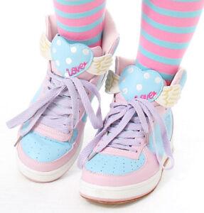 Heart Cutie Purple Kawaii Hi Pink Sweet Top Wing Decora Pastel rqtxH0qn