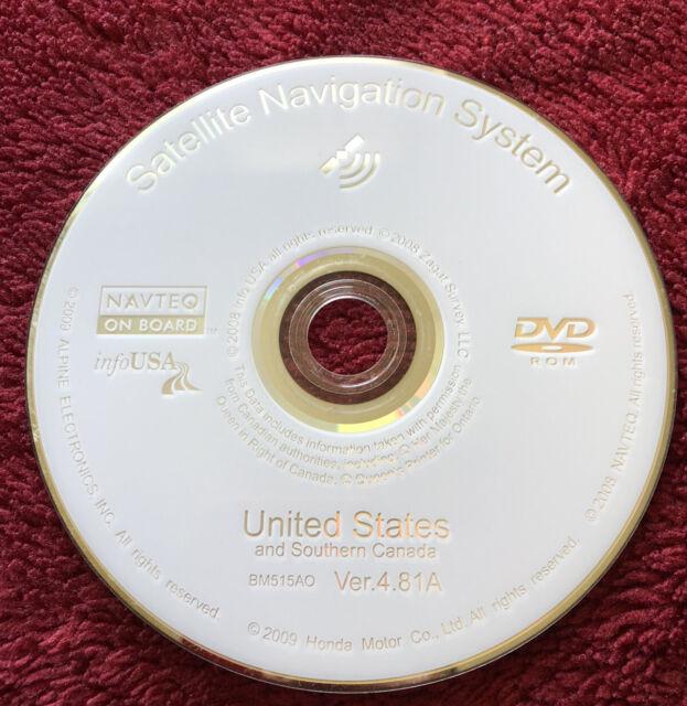 4.F0 Navigation DVD Acura RL TL MDX TSX RDX 2006 2007 2008