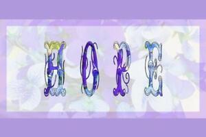 Hope-Purple-Violet-Inspirational-Art-Print-Poster-24x36-inch