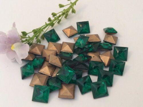 Pack de 54 Autoadhesivo Flatback gominolas Esmalte puntos 4//6//8mm Colores de otoño