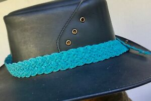 Raffia  hat band with decorative design Australian Fashion  Style for all hats