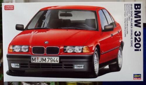 1990 BMW 320 i E 36 1:24 Hasegawa 20313