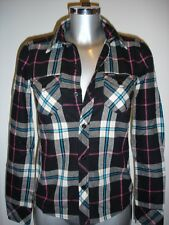 Carhartt 'Hunter' Checked Flannel Fitted Shirt XS