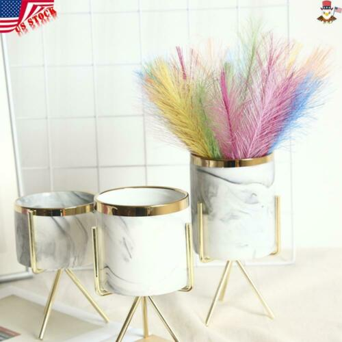 100x Artificial Bunch Flower Phoenix Herb Feather Bouquets Wedding Party Home US