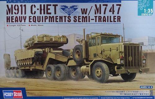 sconto di vendita HOBBYBOSS M911 C-HET C-HET C-HET W M747 SEMI TRAILER 1 35 cod.85519  più economico