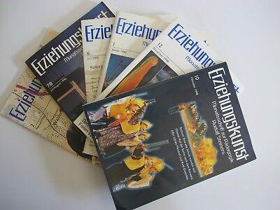 Bücher Clever Konvolut 6 Hefte Jahrgang 1996 & 1998 Erziehungskunst Rudolf Steiner K1406 Elegant Im Stil