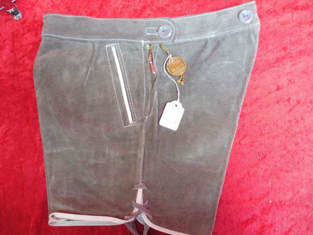 Capable De Haute Qualité Pantalon Cuir, Taille 104, Made In Germany, Pantalon Court, Les Enfants! Ventes Pas ChèRes 50%