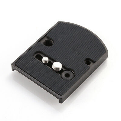 """410PL Quick Release Adapter Plate 1/4"""" 3/8"""" Screw Tripod for Manfrotto Headball"""