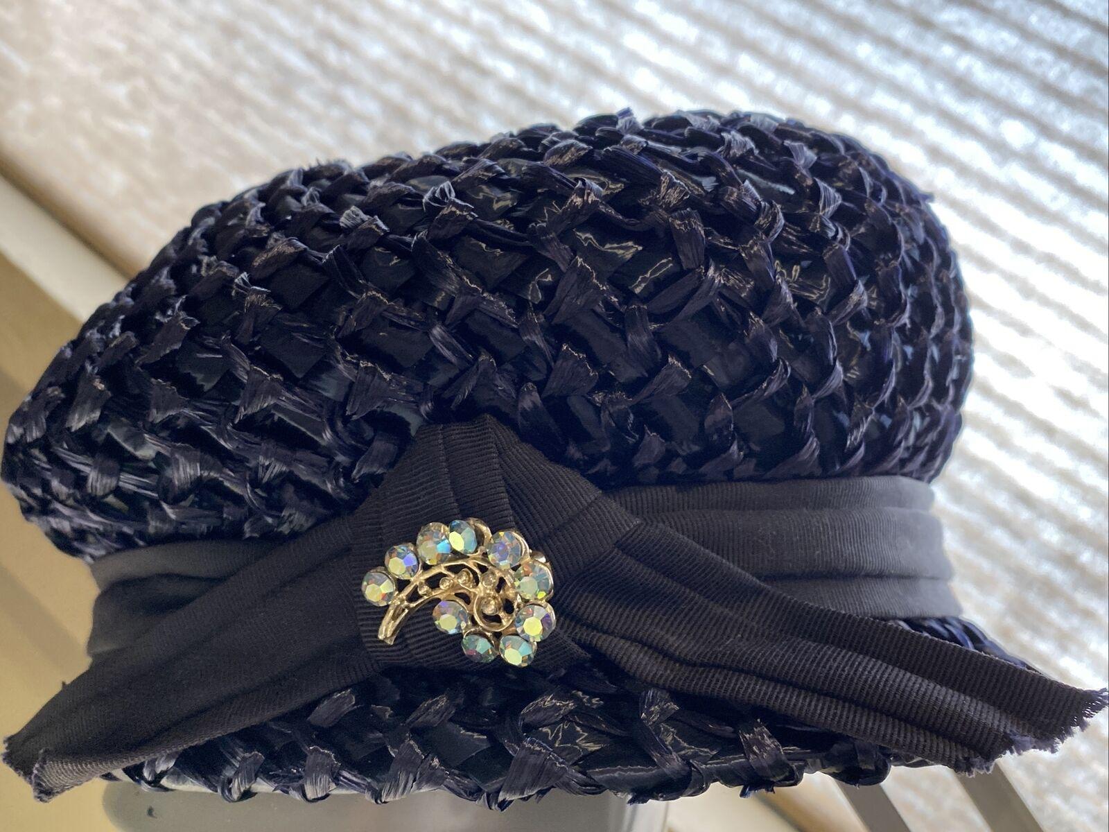 An Original Lady Byrd Creation Blue Hat c.1960's - image 4